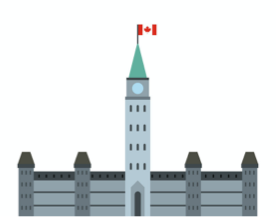 cartoon image of parliament